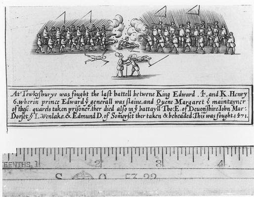 The Battle of Tewkesbury Fought Between King Edward IV