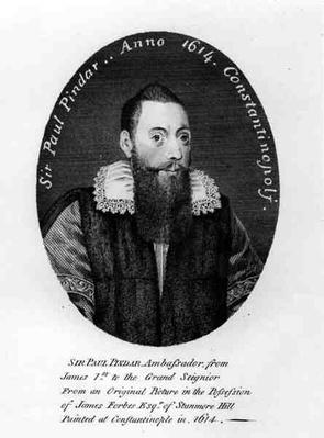 Portrait of Sir Paul Pindar