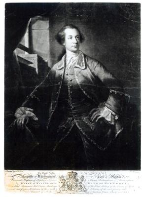 Portrait of Charles Watson-Wentworth, second Marquis of Rockingham