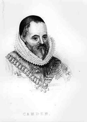 Portrait of William Camden