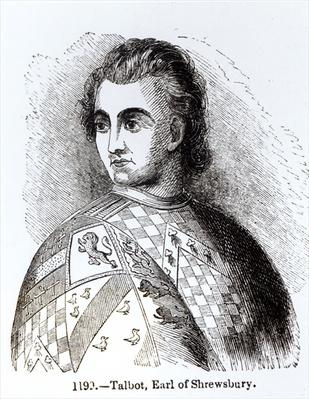 Portrait of John Talbot, first Earl of Shrewsbury