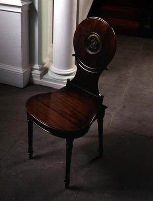Hall chair by Gillows of Lancashire, 1785