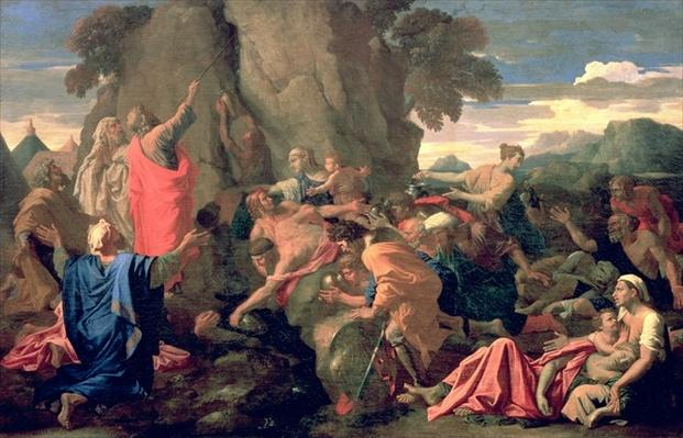 Moses Striking Water from the Rock, 1649