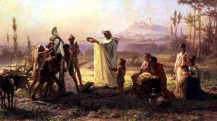 Hermes' Consecration, 1874