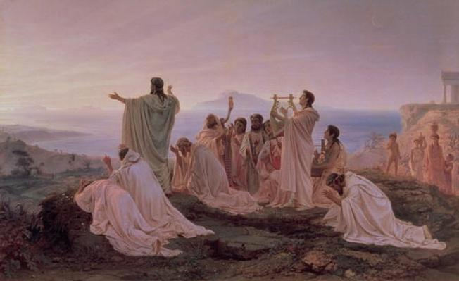Pythagoreans' Hymn to the Rising Sun, 1869