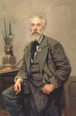 Portrait of Konstantin Apollonovich Savitsky