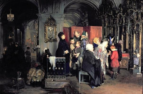 Before the Confession, 1877