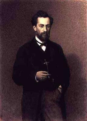 Portrait of Mikhail Konstantinovich Klodt