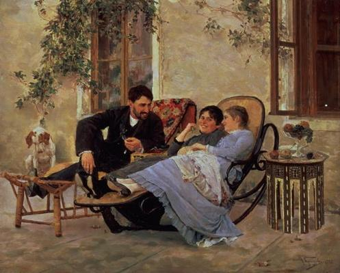 After Dinner, 1888