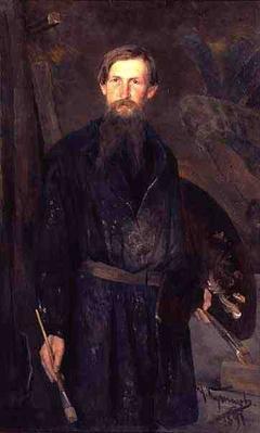 Portrait of Victor Mikhailovich Vasnetsov