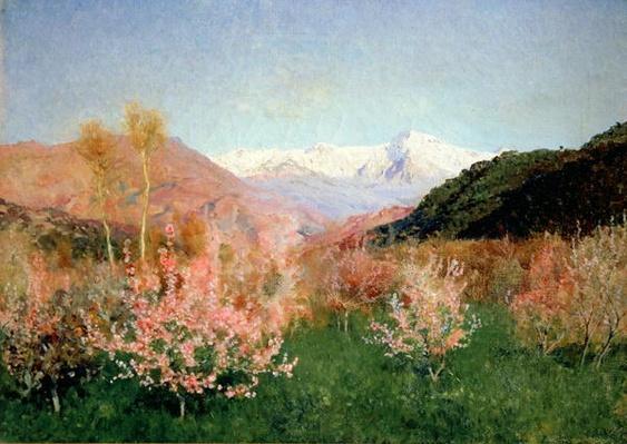 Spring in Italy, 1890