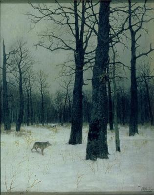 Wood in Winter, 1885