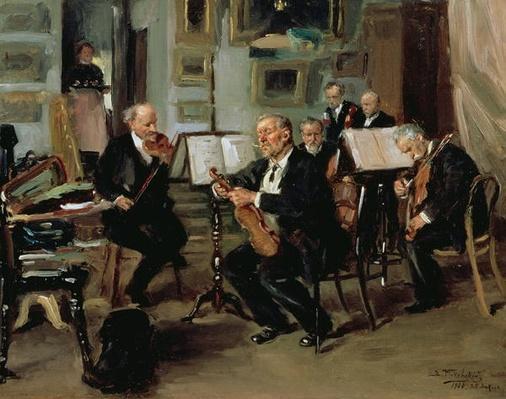 Musical Evening, 1906