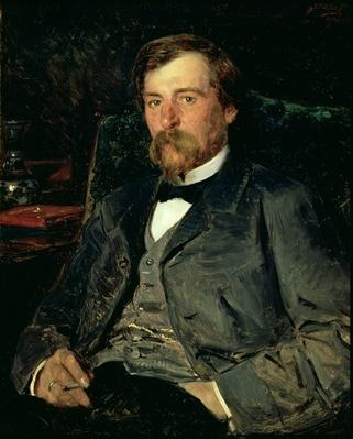 Portrait of the Artist Illarion Mikhailovich Pryanishikov