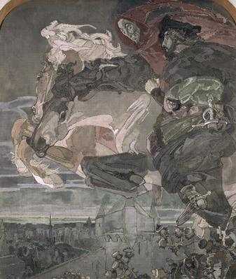The Flight of Faust and Mephistopheles, 1896