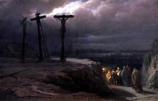 Night at Golgotha, 1869