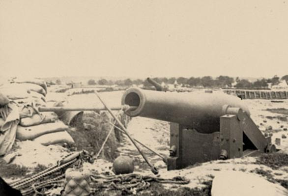 Confederate Fortifications, Yorktown, VA | Ken Burns: The Civil War