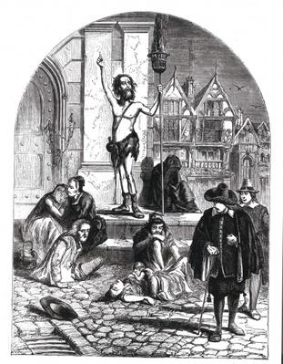 The Great Plague of 1665, the Enthusiast Denouncing London