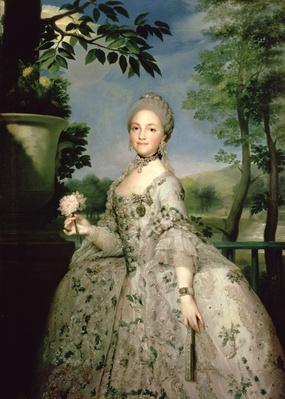 Portrait of Marie-Louise of Bourbon
