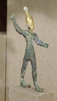 Idol of the god Baal, from Ugarit, Syria, c. 1350 BCE