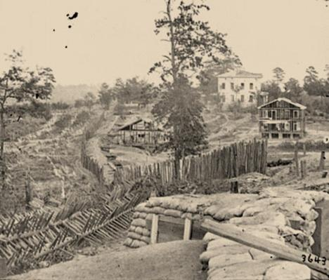 Confederate Palisades | Ken Burns: The Civil War
