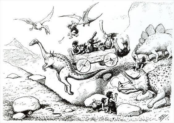 Prehistoric Peeps, 1894