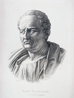 Portrait of Marcus Tullius Cicero