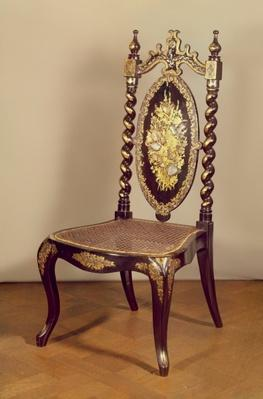 Chair, mid 19th century