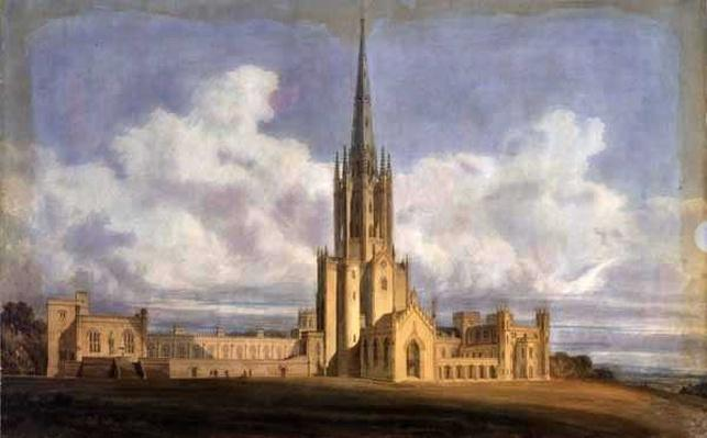 Projected Design for Fonthill Abbey, Wiltshire, 1798