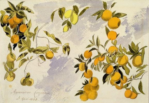 Orange Trees, 1863