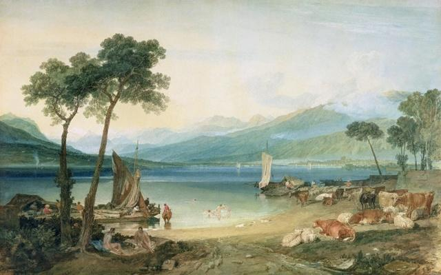 Lake Geneva and Mont Blanc, 1802-5
