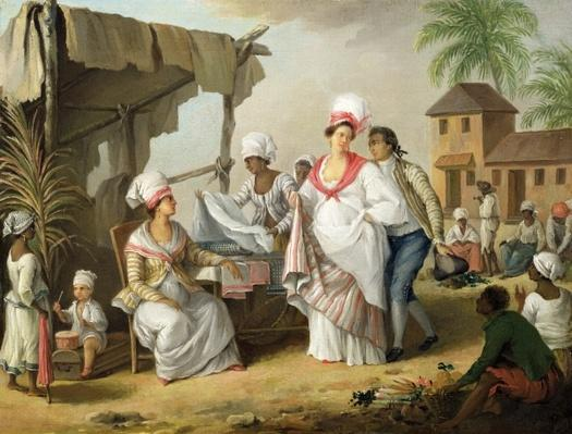 Linen Market, Roseau, Dominica, c.1780