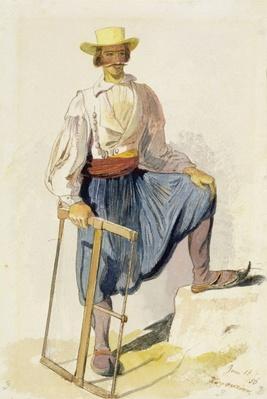 Greek Woodcutter, 13 June 1856