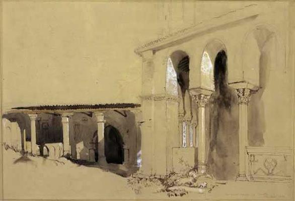The Great Square at Torcello, 1850