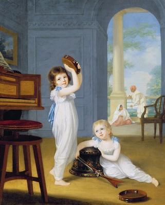 Emily and George Mason, c.1794-95