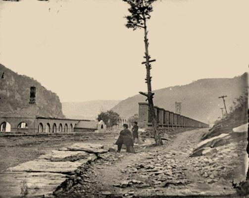 Ruins of Arsenal at Harpers Ferry | Ken Burns: The Civil War