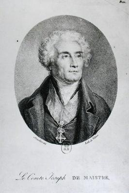 Portrait of Count Joseph de Maistre