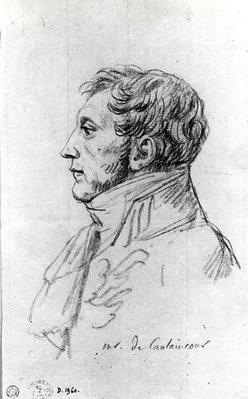 Portrait of Armand Augustin Louis. Marquis de Caulaincourt