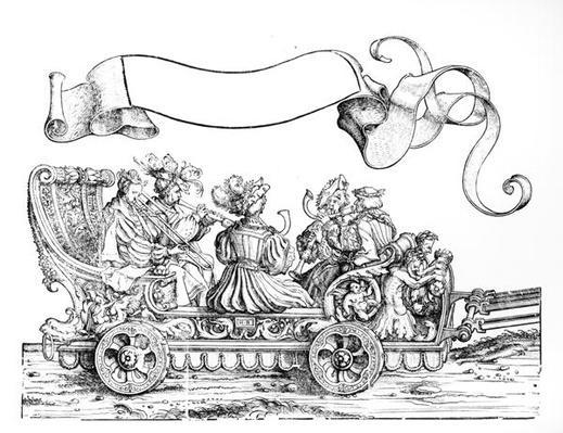 A Scene from Maximilian's Triumphal Procession, c.1516-18