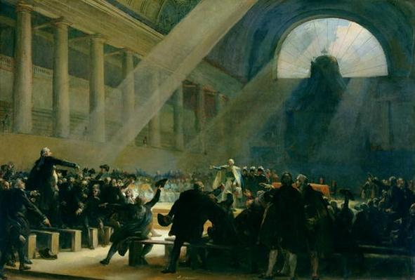 Mirabeau Answering Dreux-Breze, at a National Assembly Meeting, 23rd June 1789, 1830