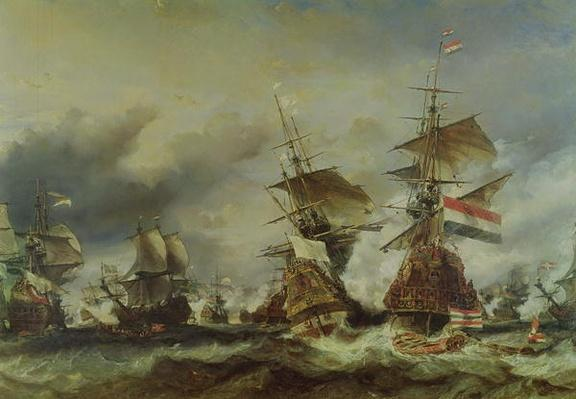 The Battle of Texel, 29 June 1694