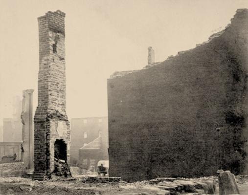 Ruins On Carey Street   Ken Burns: The Civil War