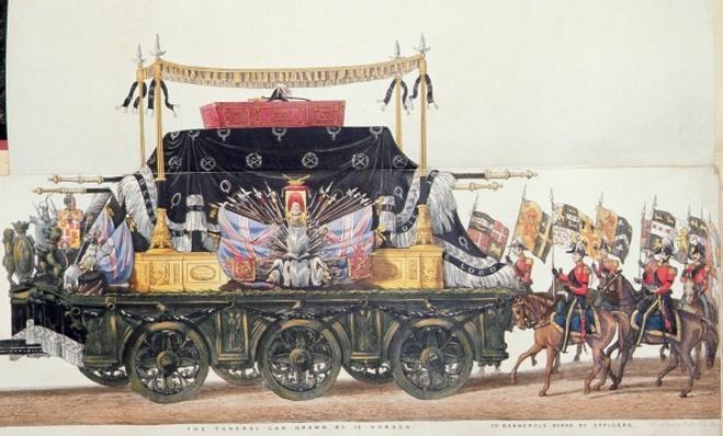 Funeral Car of the Duke of Wellington, 1853