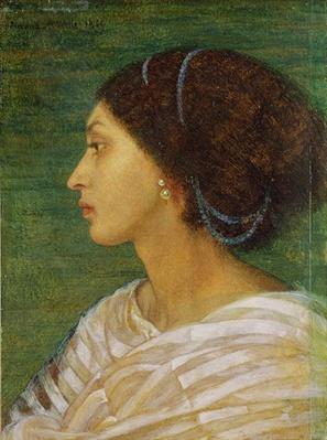 Head of a Mulatto Woman, 1861