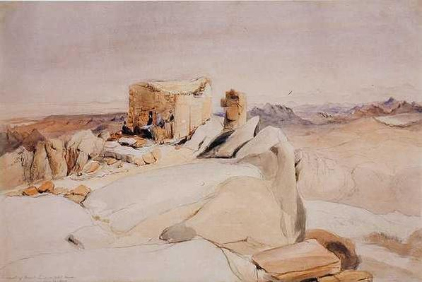 The Summit of Mount Sinai or Jebel Musa, 1840