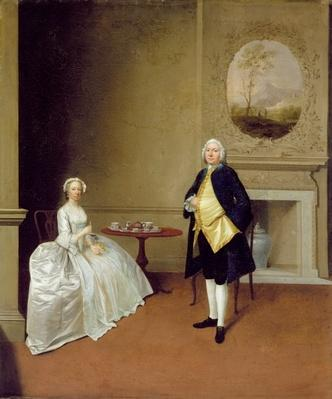 Mr and Mrs Hill, c.1750-51