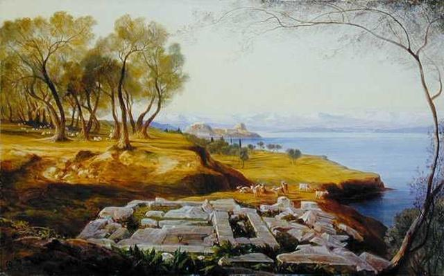 Corfu from Ascension, c.1856-64