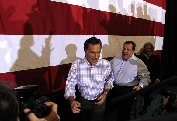 Romney Campaigns With Pawlenty And Christie In New Hampshire | U.S. Presidential Elections 2012