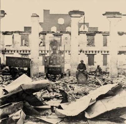 Ruins of Richmond, April, 1865 | Ken Burns: The Civil War
