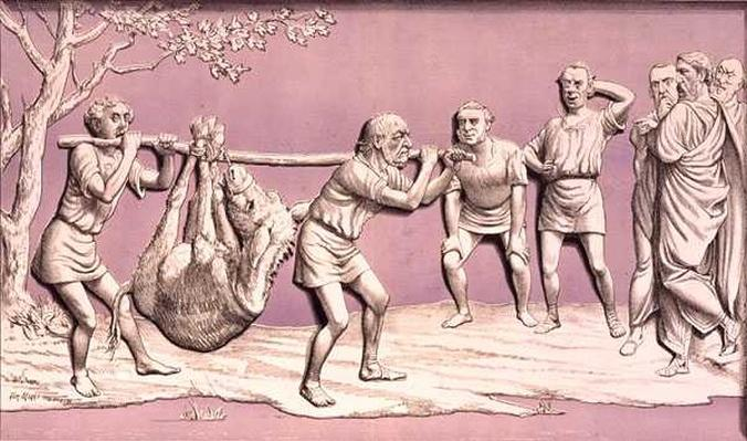 The Old Man and his Ass, or How They Carried the Home Rule Bill, from 'St. Stephen's Review Presentation Cartoon', 22 May 1886